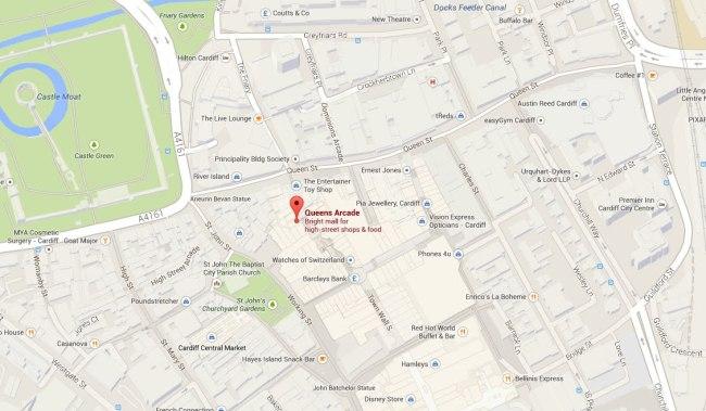 A QA map