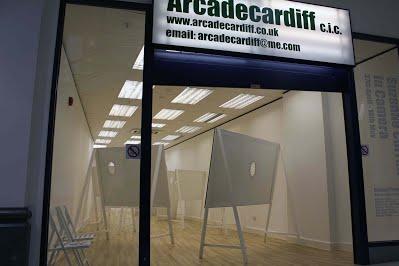 Arcadecardiff space