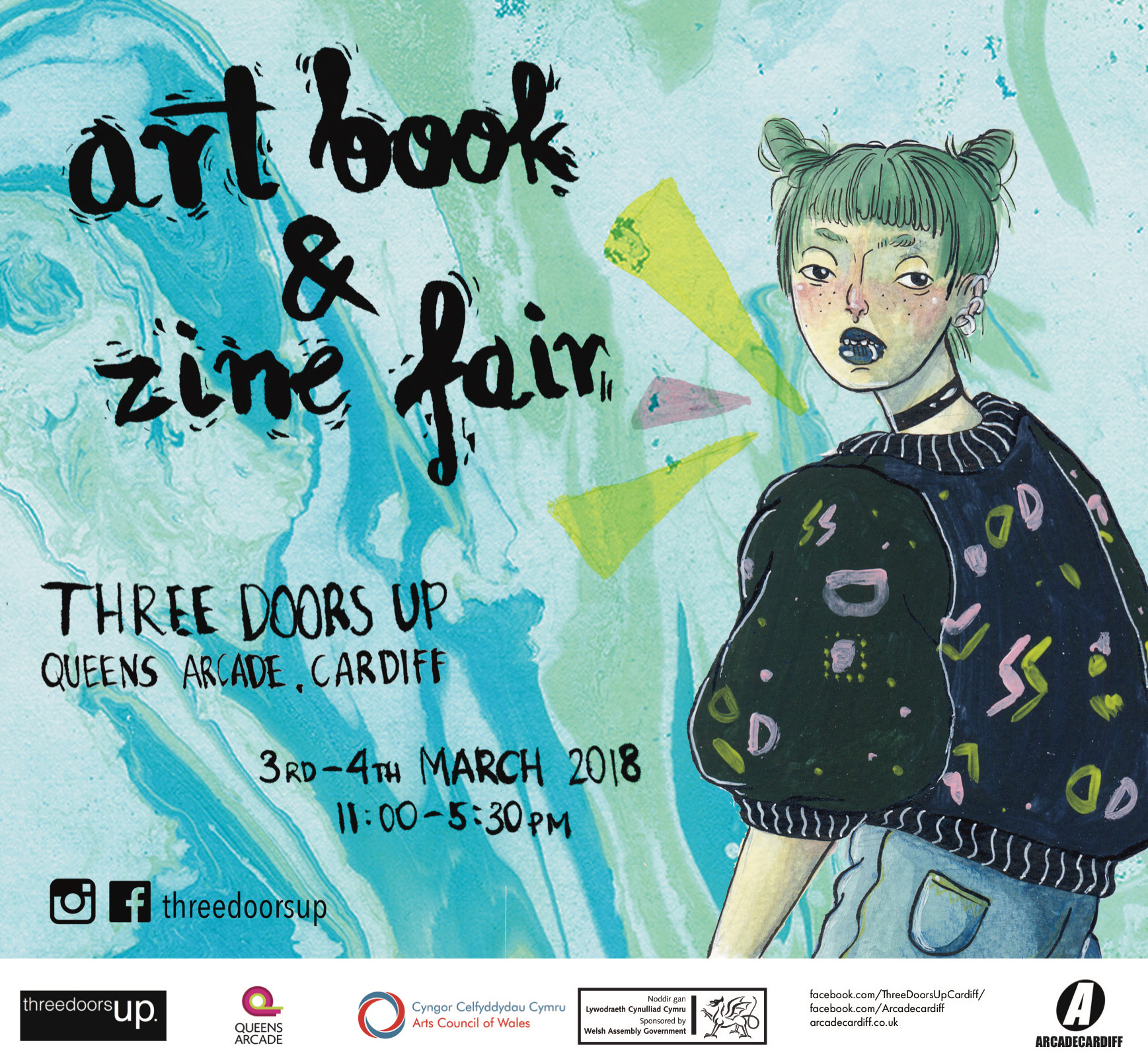 artbook zine fair poster