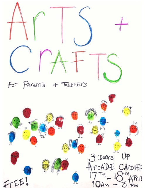 Arts & Crafts for Parents and Toddlers